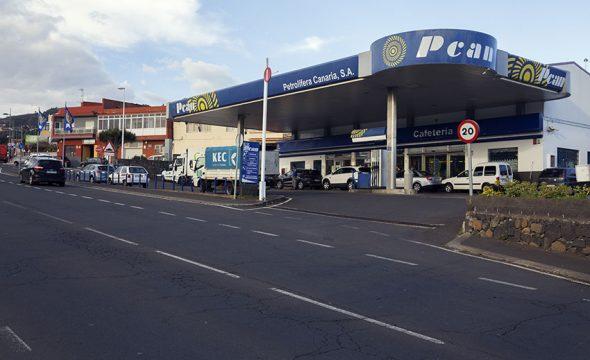 Station essence El Rosario à Tenerife