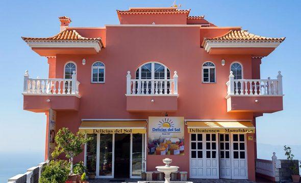 Bâtiment de Delicias del Sol à Tenerife