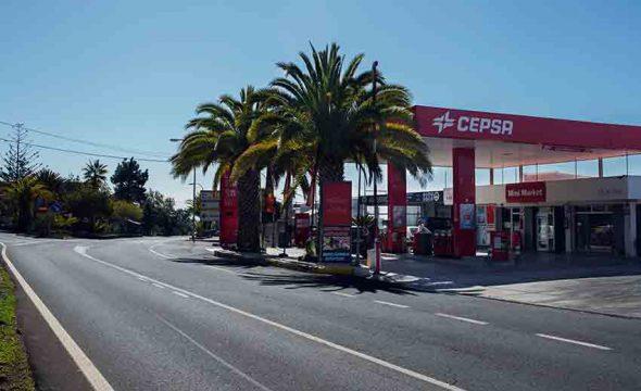Station essence de Guía de Isora à Tenerife