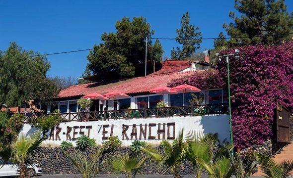 Vue générale du Restaurant El Rancho à Tenerife