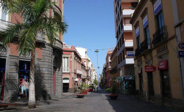 Rue du Château à Santa Cruz de Tenerife
