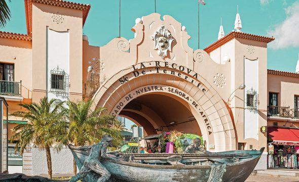 Entrée principale du Marché Nuestra Señora de África à Santa Cruz de Tenerife